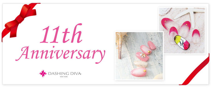 5月限定 11th Anniversary Design